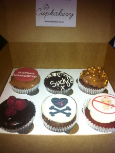 Anti Valentines Cupcakes